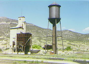Coaling Bin and Water Tower